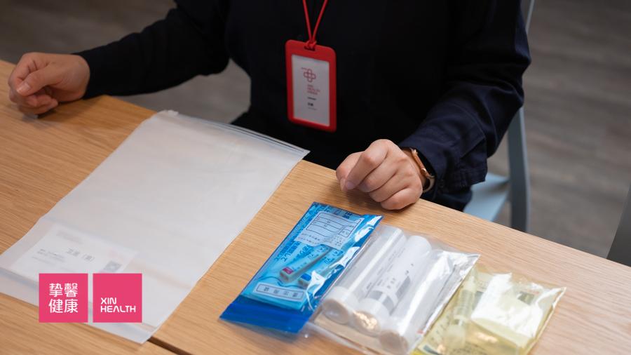 日本高级体检 医院邮寄的用户体检采集工具