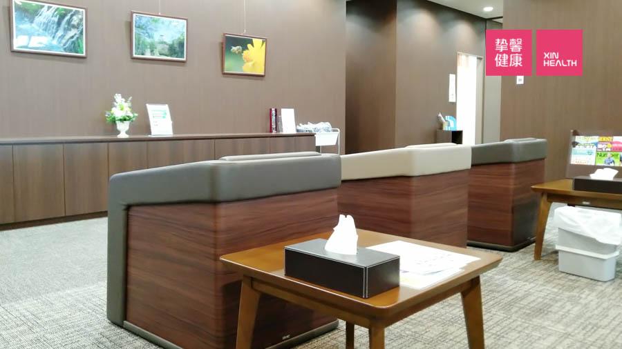 日本高级体检 体检部用户休息室内部环境