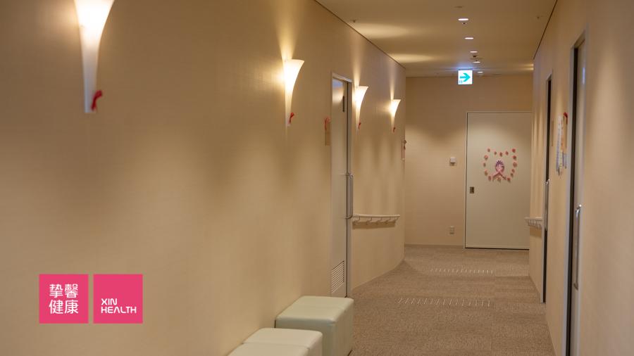 日本高级体检 内部科室走廊