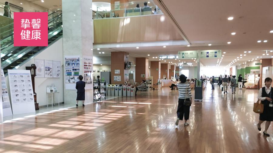 日本癌研有明医院内部就诊环境