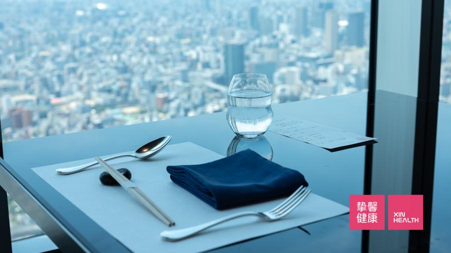 全面高级2日套餐 顶楼景观餐厅餐食