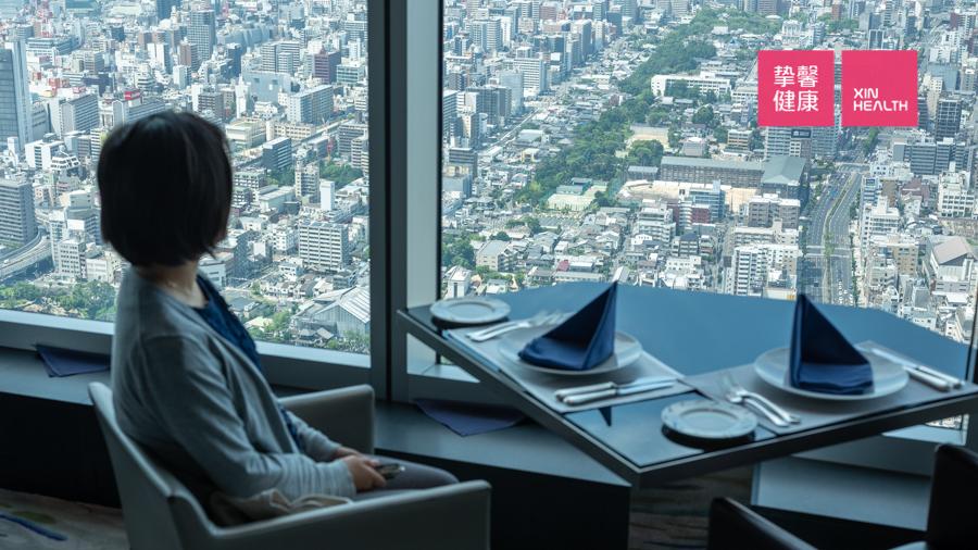 日本2日高级体检  景观餐厅晚餐