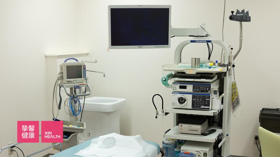 日本体检中胃镜检查仪器