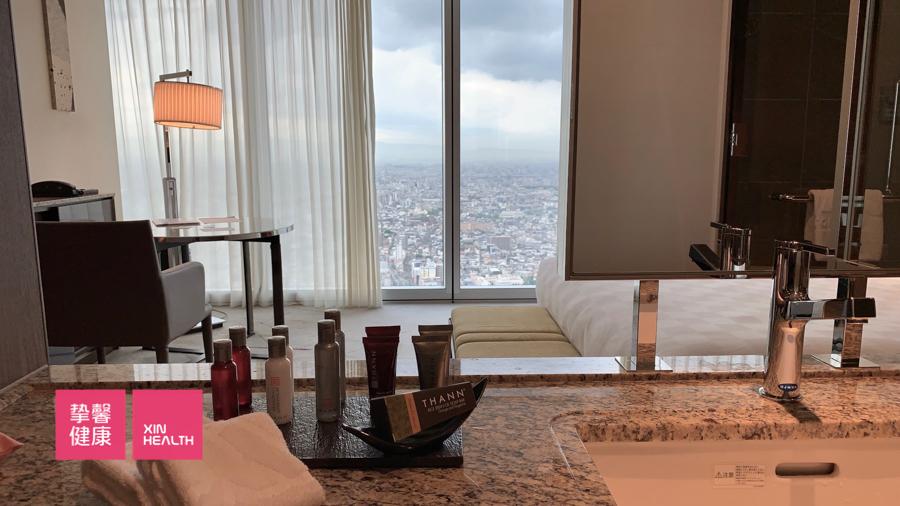 日本体检全面高级2日套餐  入住万豪酒店客房