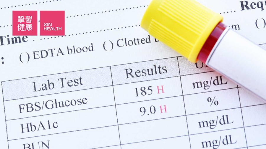 糖尿病患者的糖化血红蛋白指标值较高