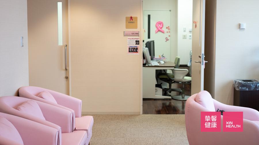 温馨舒适的日本高级体检 女性体检专区