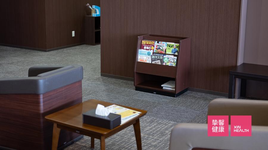 日本高级体检 体检部用户休息区环境