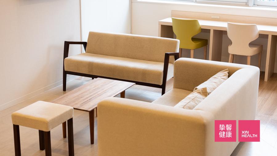 日本肠镜检查医院为用户提供的休息区