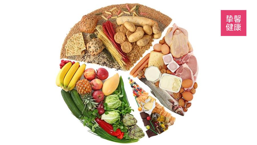 健康的饮食可以预防钙化的形成