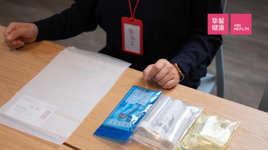 日本高级体检 检前取样工具