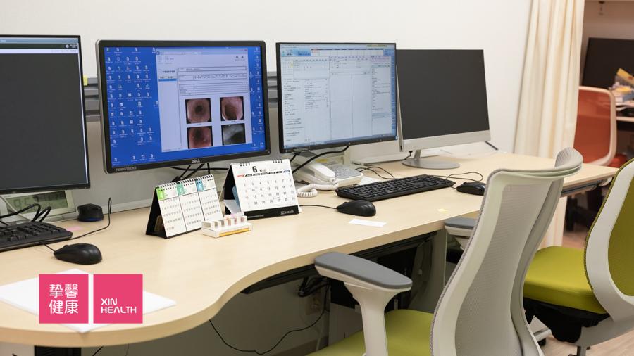 日本高级体检 肠镜检查影像资料