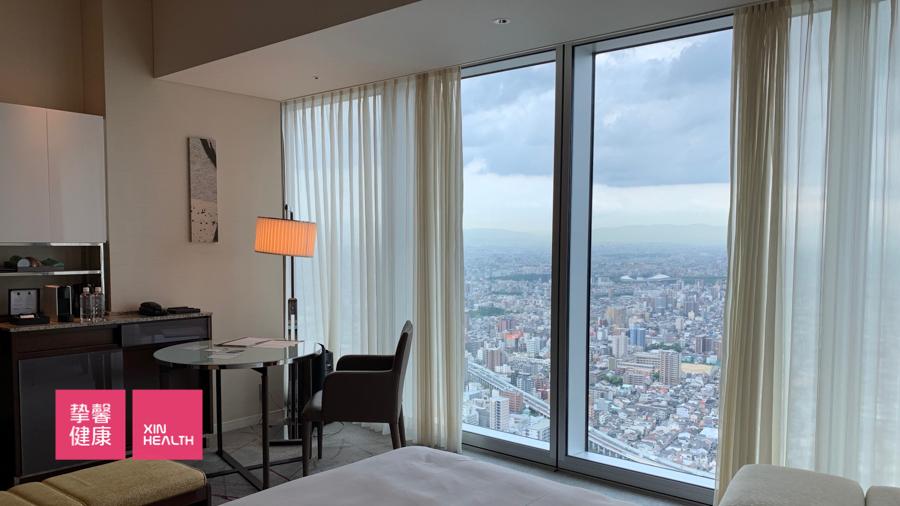日本高级体检 万豪酒店室内环境