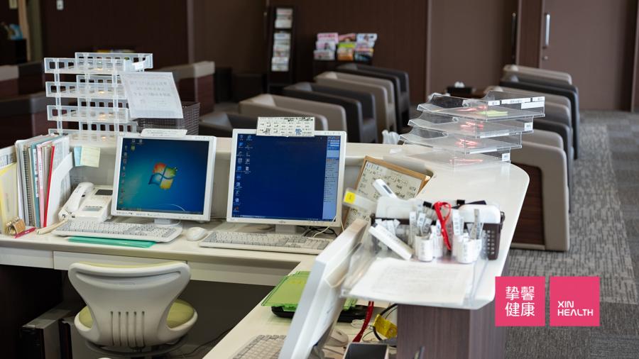 大阪市立大学医学部附属病院 体检部前台