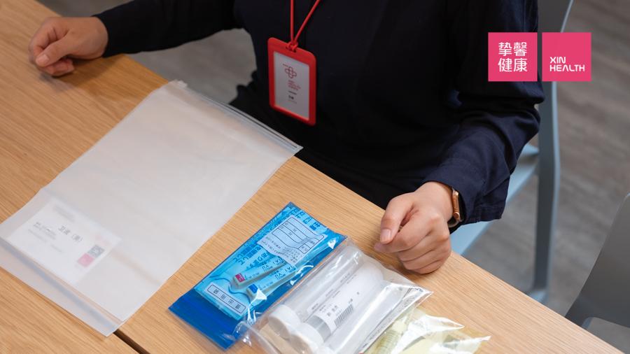 日本癌症筛查体检套餐 取样工具
