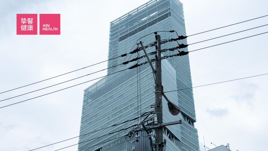 大阪市立大学医学部附属病院体检部 所在的海阔天空大楼