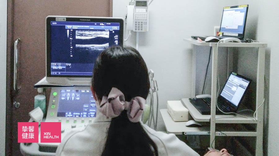 颈动脉超声波检查