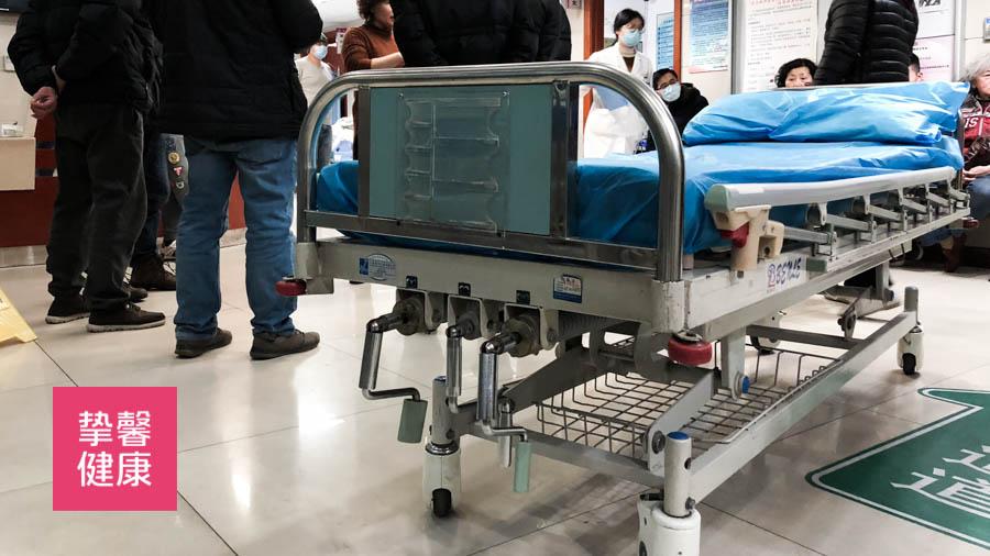 国内医院应急通道 无处安置的病床