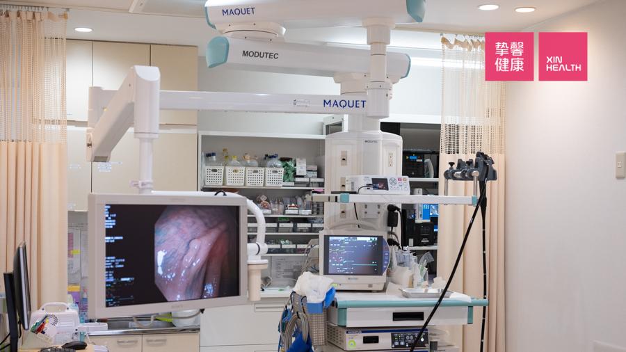 日本高级体检 肠镜检查仪器