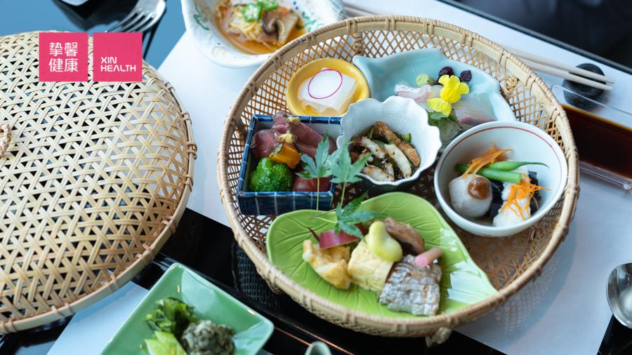 日本高级体检  全面高级2日套餐  高级餐食