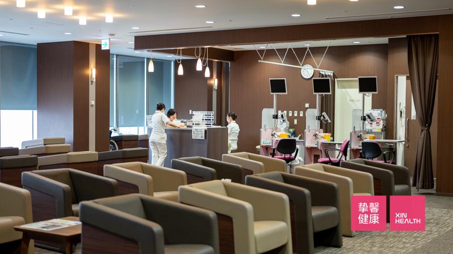日本高级体检 体检部门休息区域