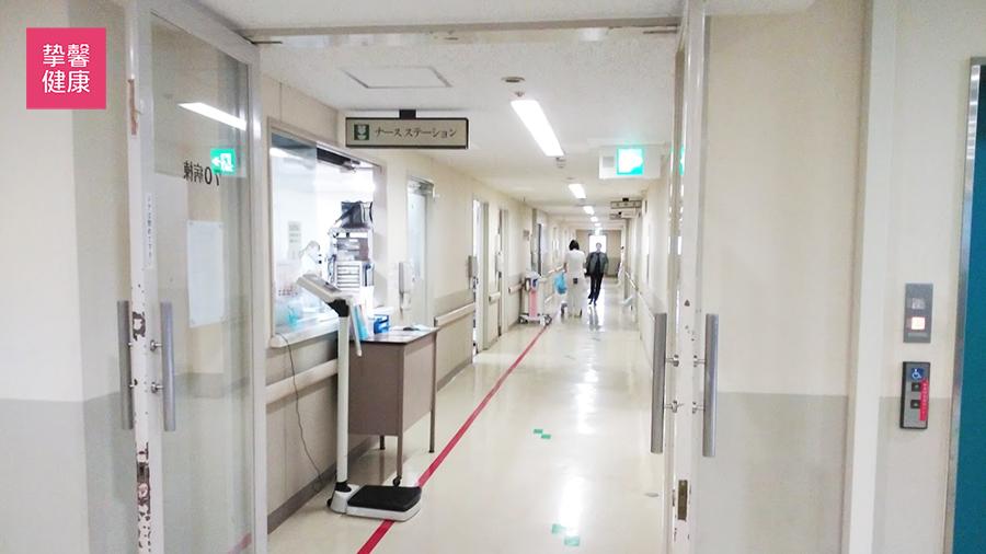 近畿大学医学部附属医院 病房外护士站