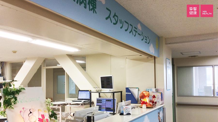 兵库医科大学医院 儿科护士站