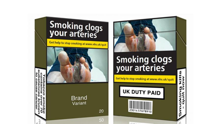 澳大利亚政府制定的烟盒包装