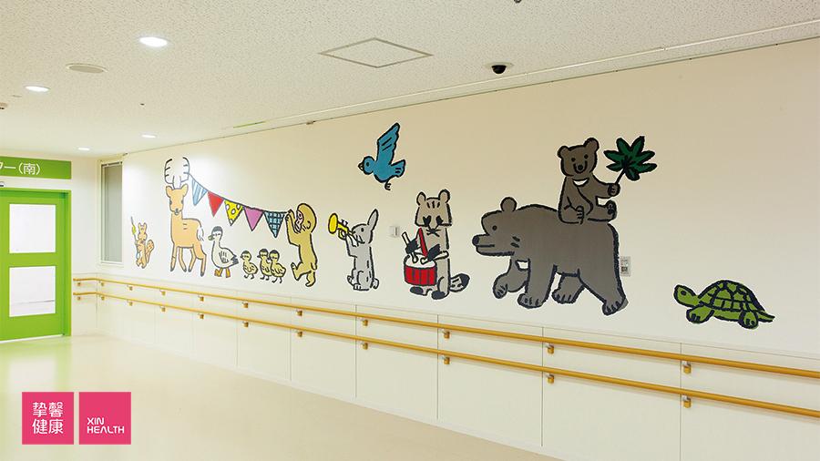 奈良县立医科大学附属医院 儿科病房外环境