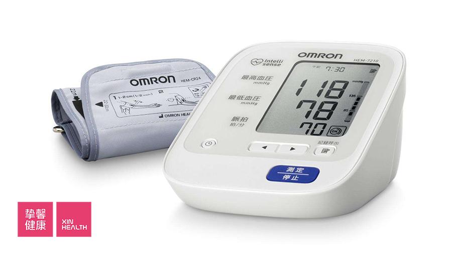 高血压患者家中常备的电子血压计