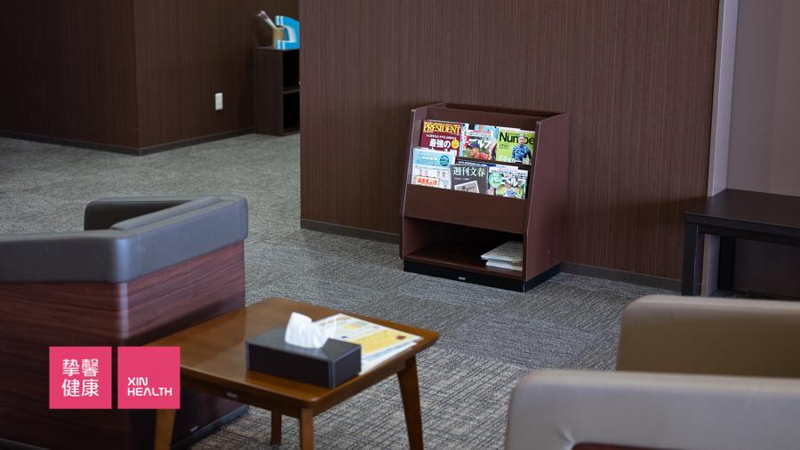 随处可见的日本体检 知识科普书刊