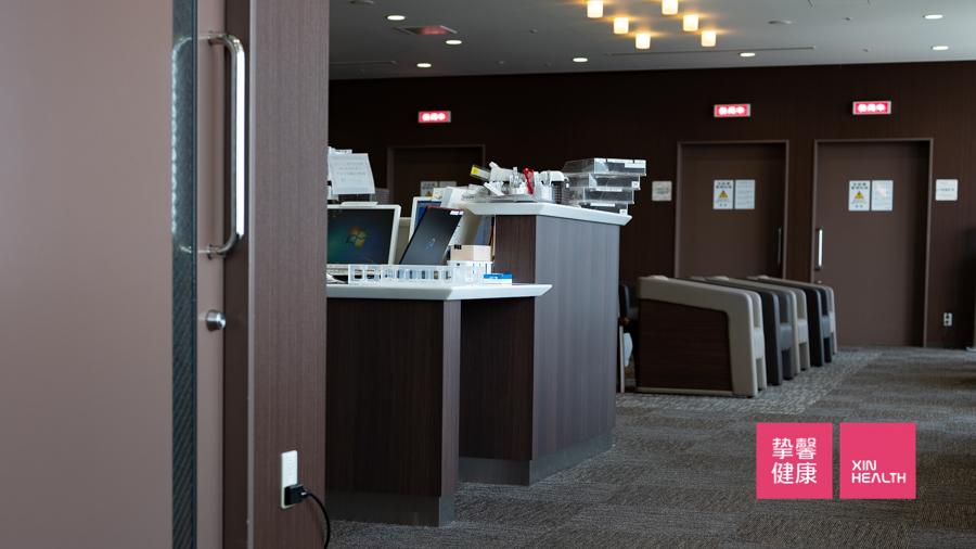 日本高级体检 体检用户休息区域