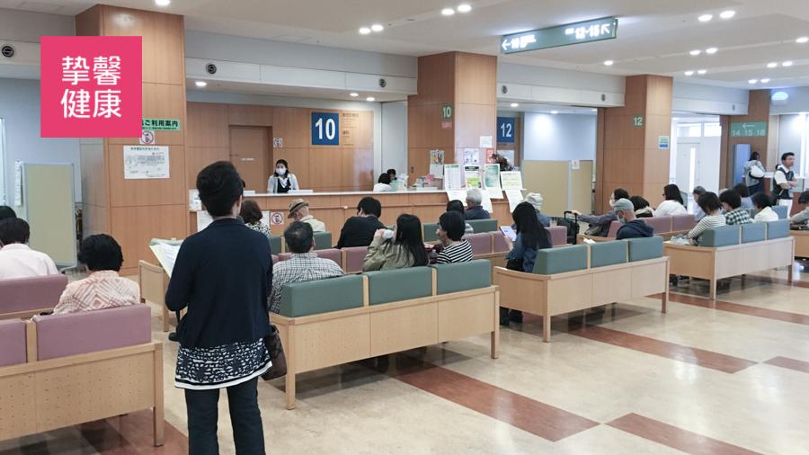 相较于国内医院 日本医院显得更加整洁安静