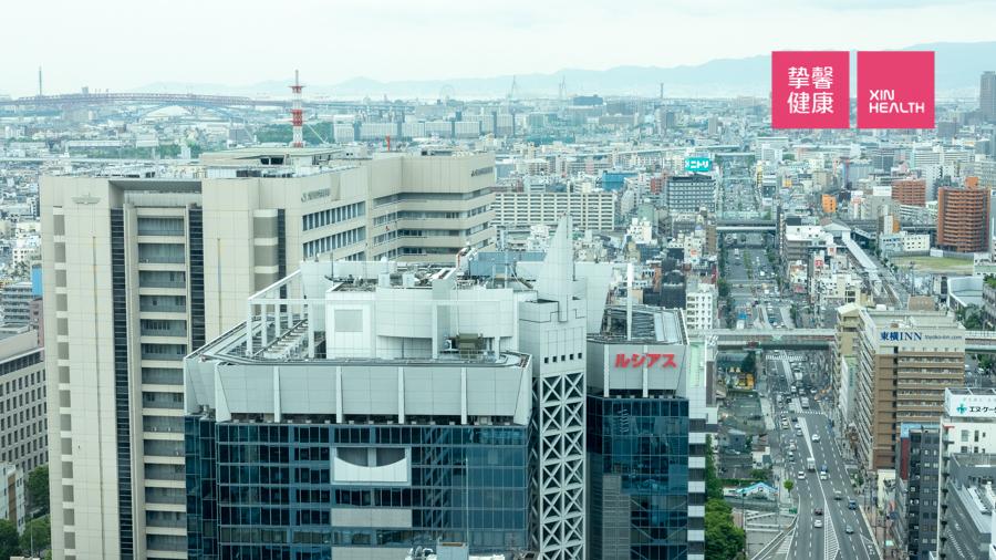 日本高级体检 体检部大楼外部环境