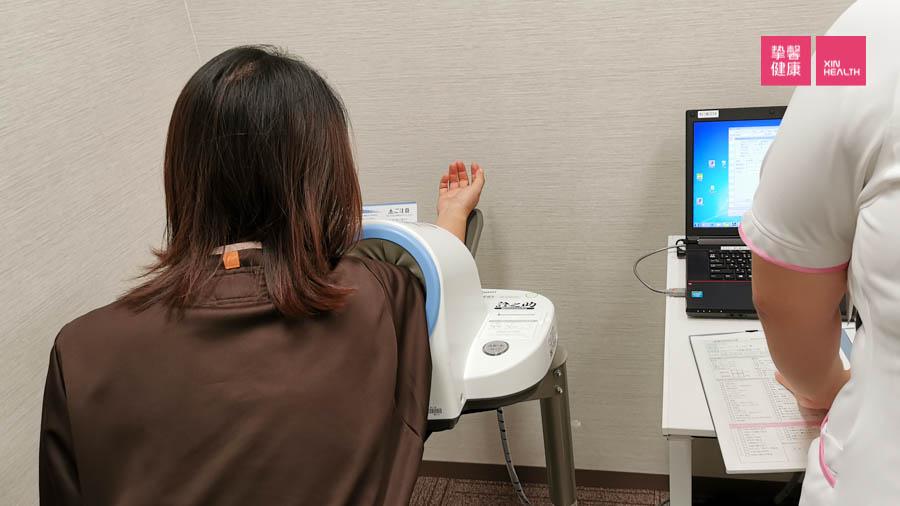 日本高级体检 血压检查
