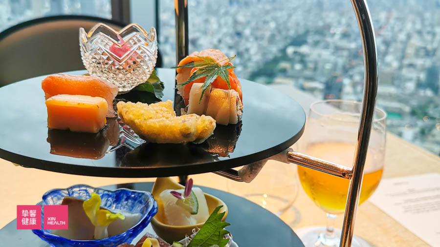 日本高级体检所在大楼 顶楼景观餐厅