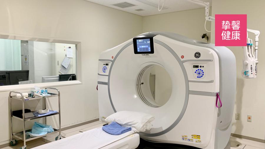 癌研有明 CT 检查机器
