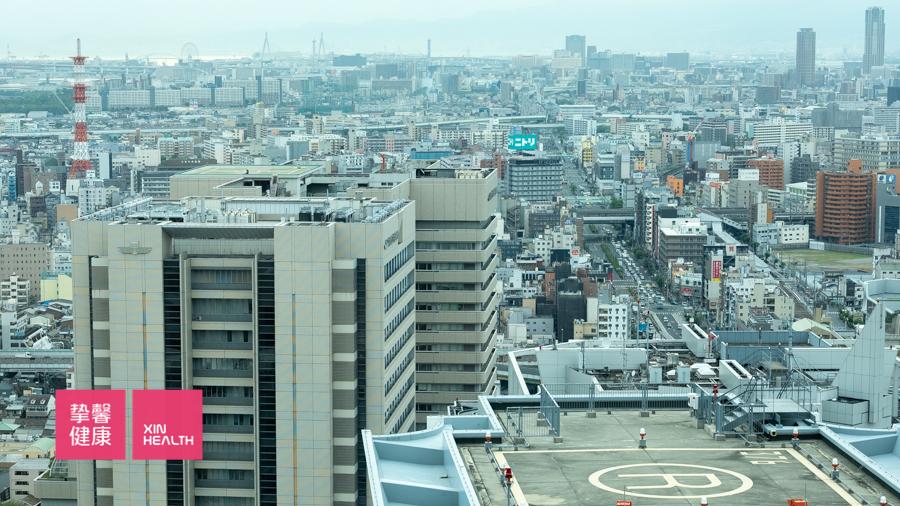 大阪市区 俯瞰景观