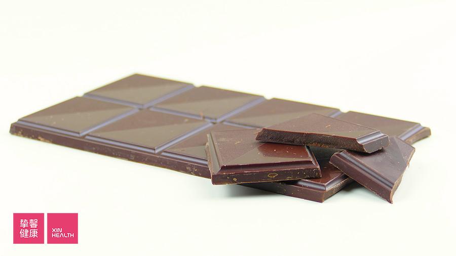黑巧克力并不能减肥