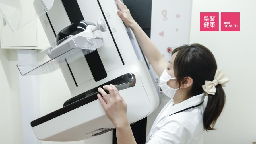 日本体检 乳腺钼靶检查机器