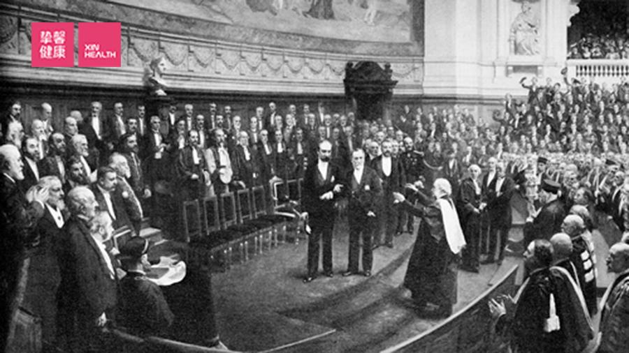 巴斯德70岁寿辰的盛大庆典,1892年