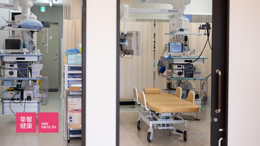 日本高级体检 肠镜检查室