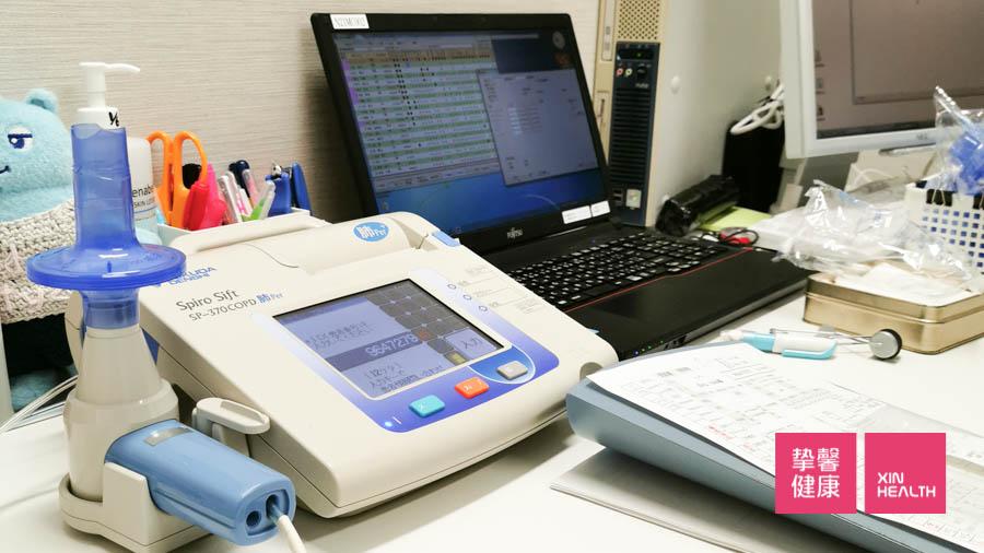 日本高级体检 肺活量检查