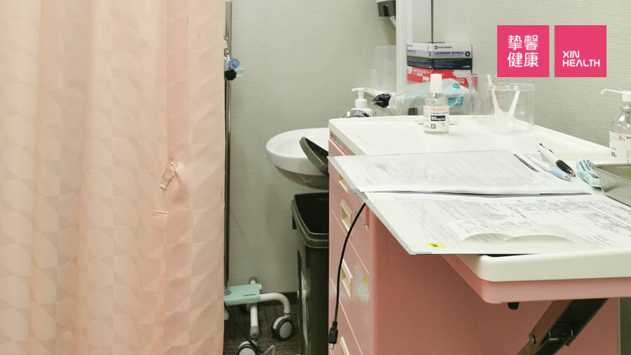 日本高级体检 胃镜检查准备室