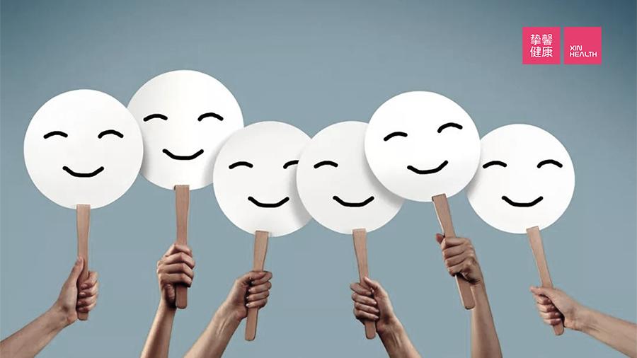 爱笑的人更少患焦虑症