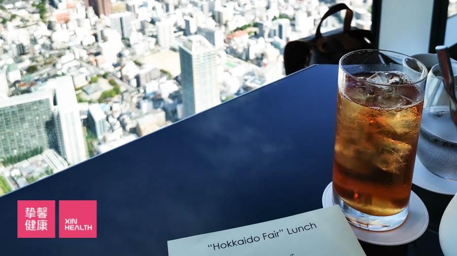从天王寺的海空天阔大楼俯瞰大阪美景