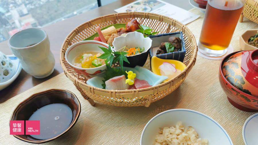 体检套餐餐食也是日本体检亮点之一