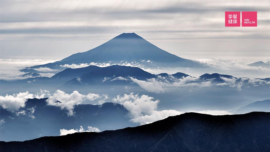 富士山下有很多温泉