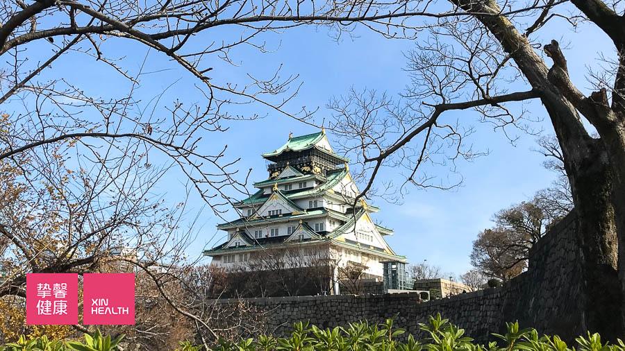 日本高级体检 医院周边环境 大阪城公园