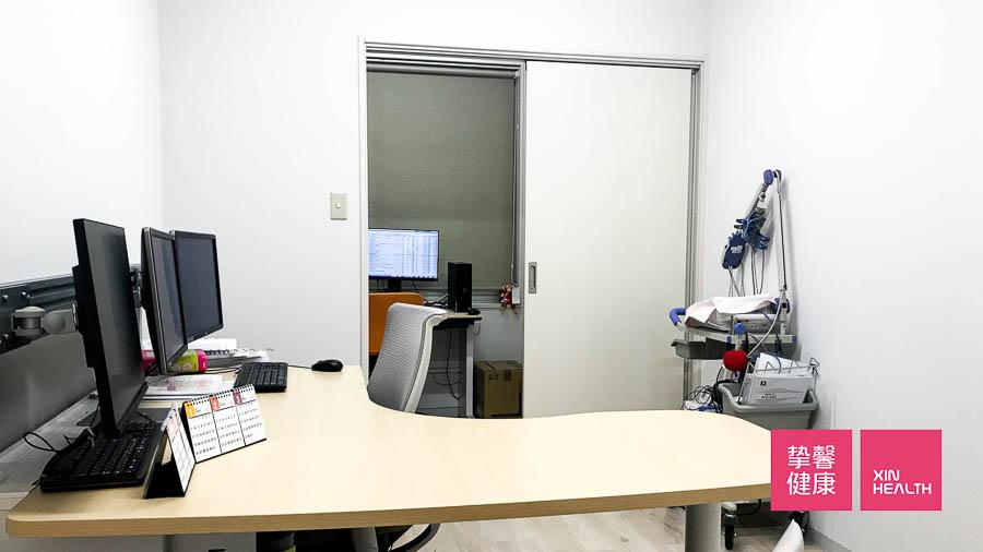 日本高级体检 肠镜检查医院 西山消化器内科 诊室