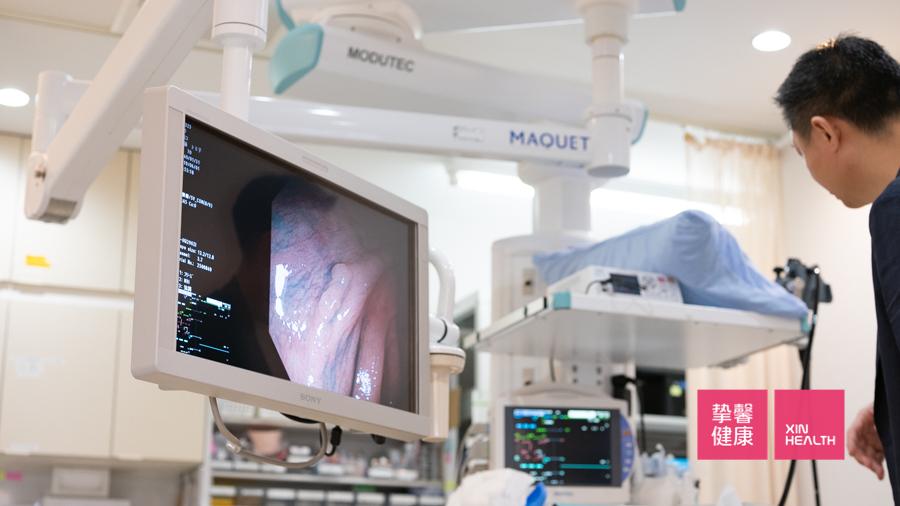 日本高级体检 肠镜检查医院 西山消化器内科 检查设备